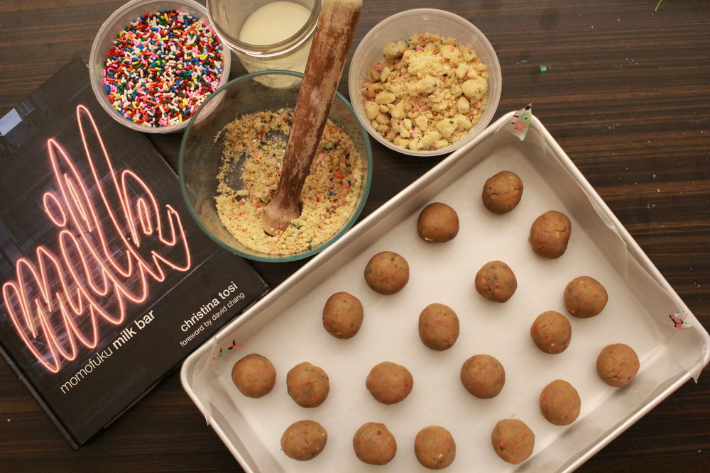 MOMOFUKU MILK BAR BIRTHDAY CAKE TRUFFLES