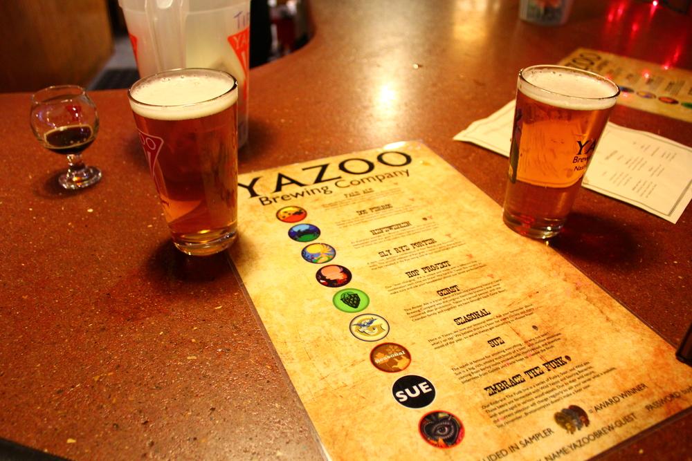 yazoo brewing. nashville, tn