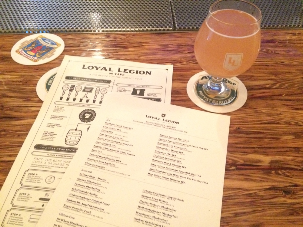 MAXENE'S 2015 FAVORITE RESTAURANTS IN PORTLAND, LOYAL LEGION