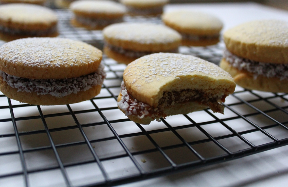 ALFAJORES A DELICIOUS DULCE DE LECHE SANDWICHED COOKIE