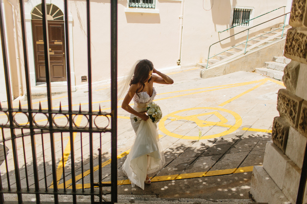 WE ELOPED IN GIBRALTAR