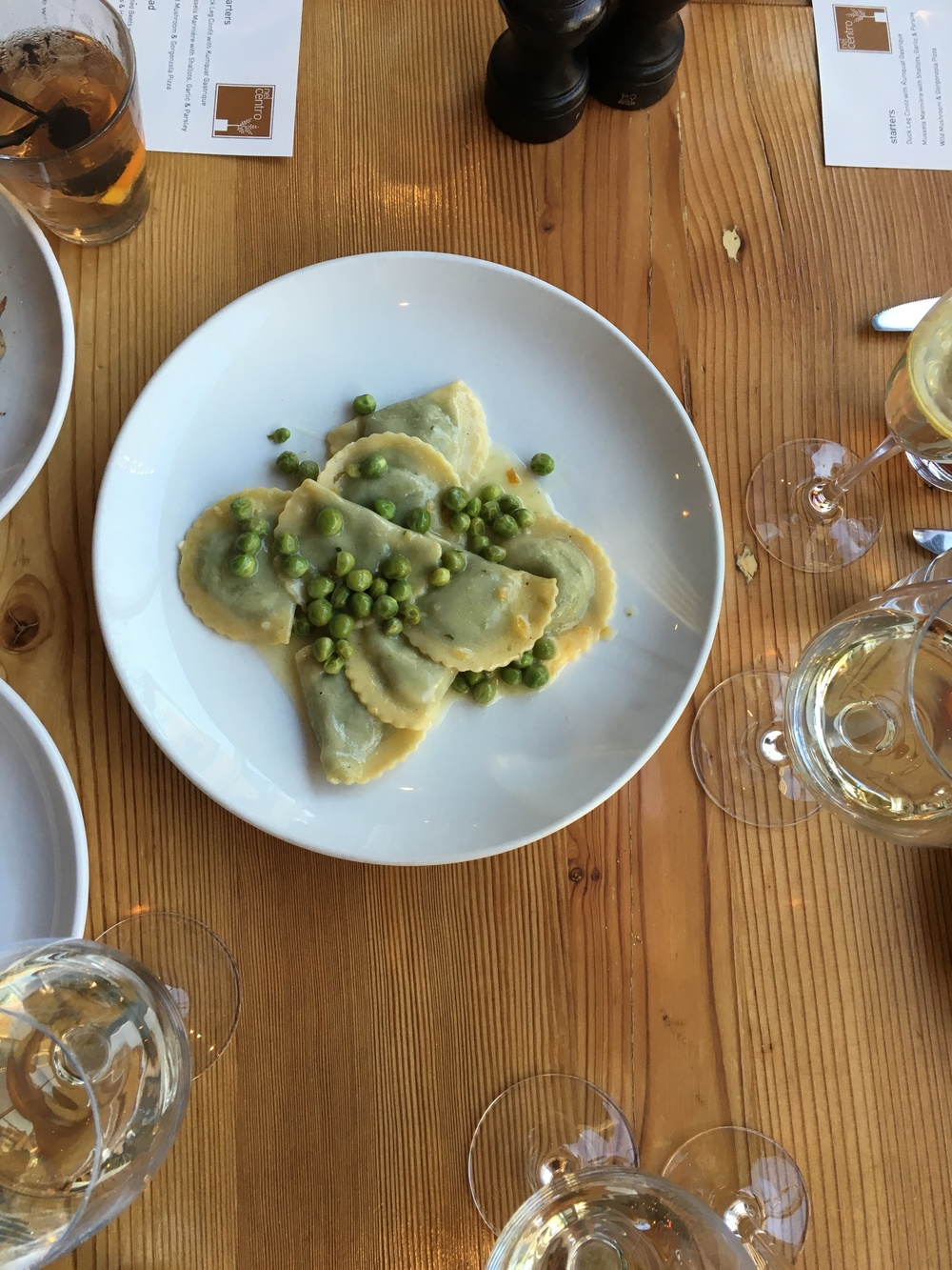 fresh pasta and wine pairings at nel centro
