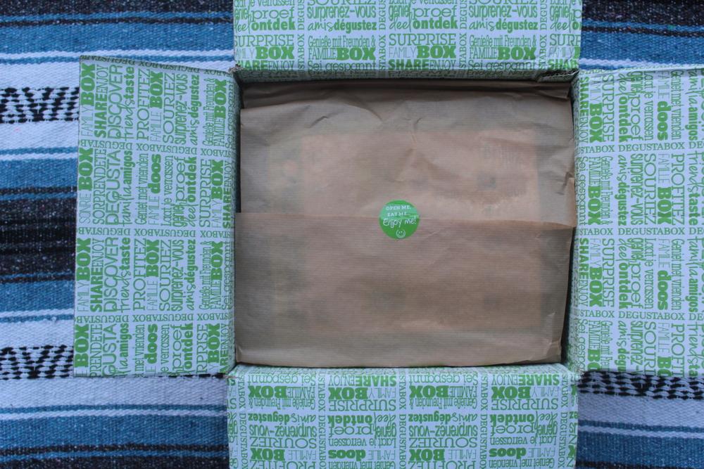 unboxing degusta box