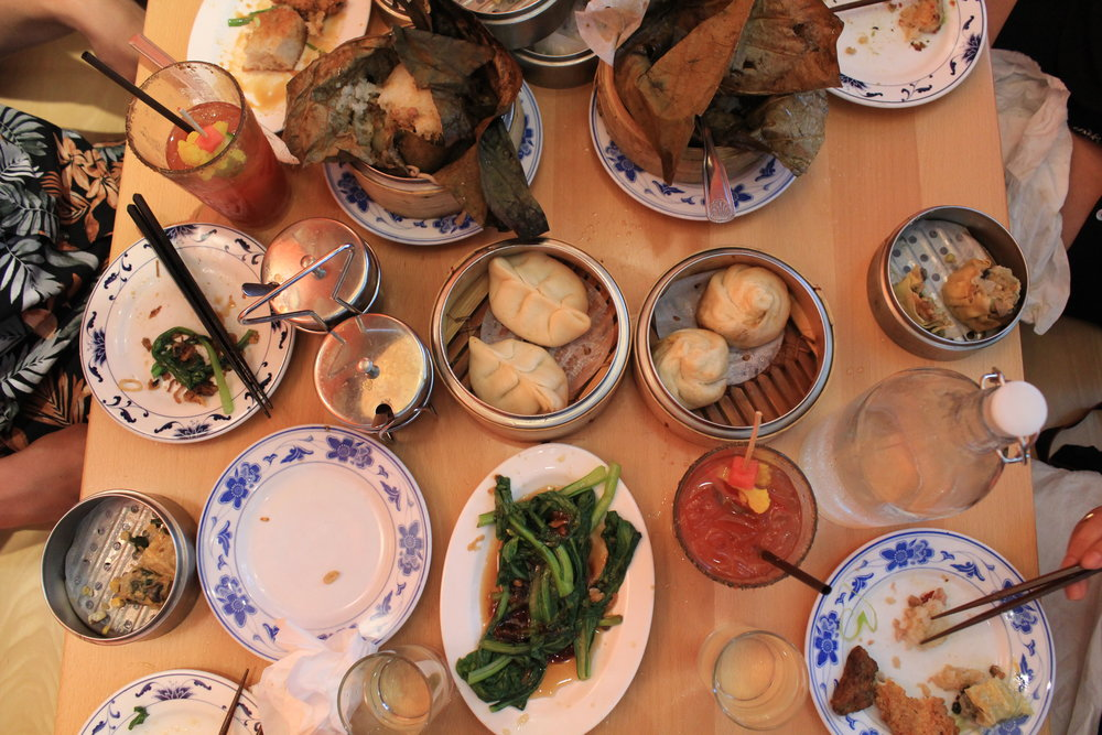 dim sum service at Boke Bowl West