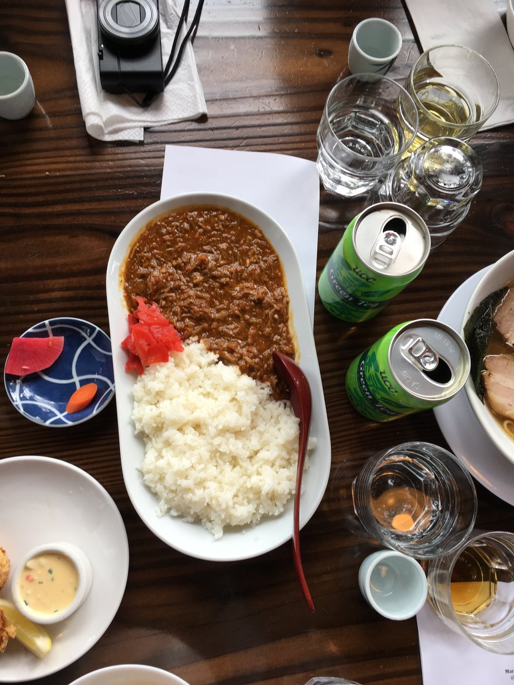 curry rice (pork) // japanese style pork curry with rice
