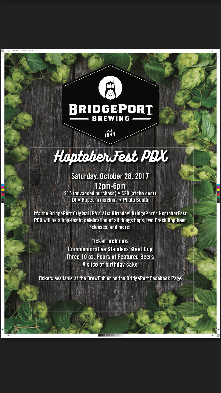 BridgePort Brewing HoptoberFest 10/28