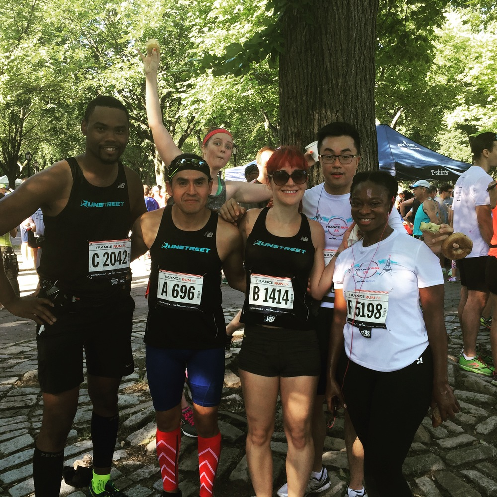 At Runstreet NYC, we all have different race goals but enjoy the experience together.