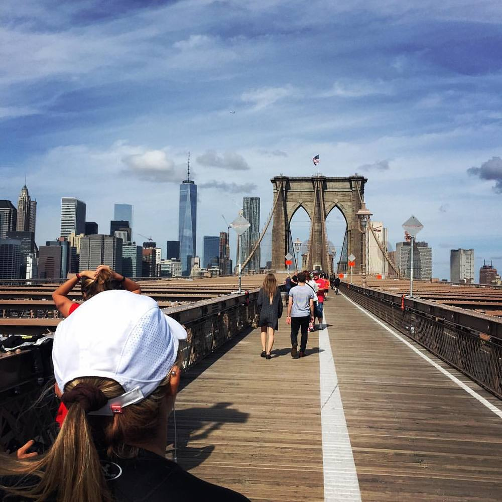 Join Team Runstreet for a beautiful run over the Brooklyn Bridge.