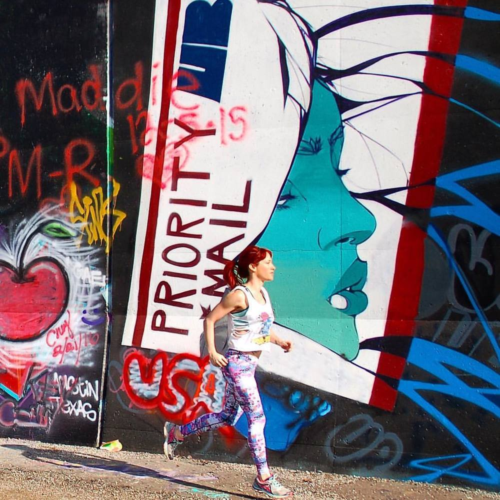 Dona Jo graffiti leggings, the Paulista.