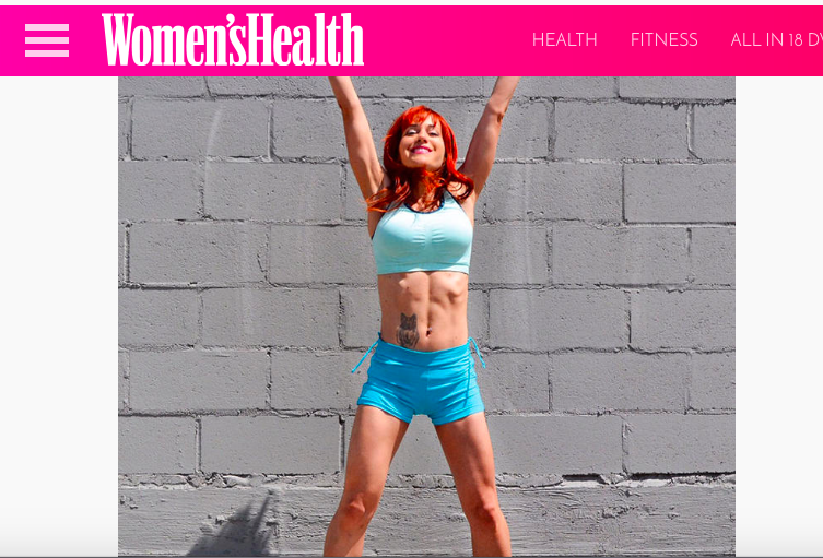 Runstreet founder Marnie Kunz featured as a  2016 Women's Health Action Hero .