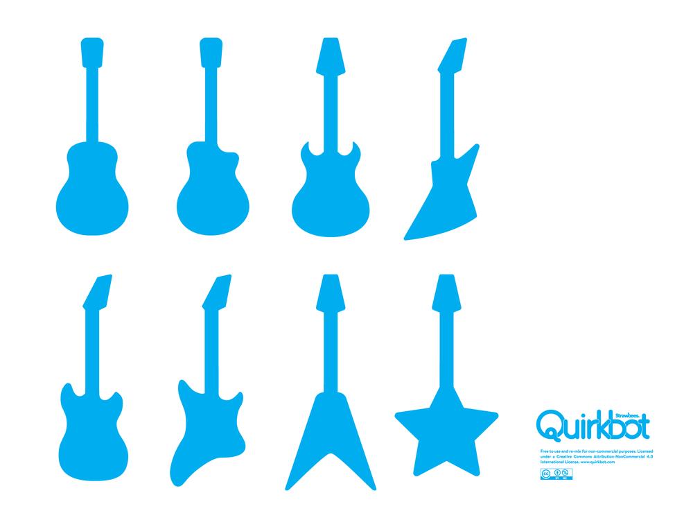 Guitars Silhouettes PDF