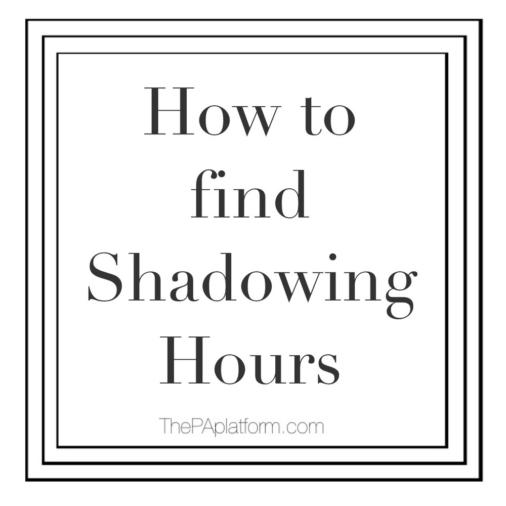 how to get shadowing hours the pa platform it s become a huge requirement for most programs to have a good amount of shadowing hours the number i see thrown around the most is 100 but some programs