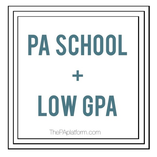 So the question comes up a lot about whether it is possible to get accepted  into PA school with lower grades or an overall low GPA.