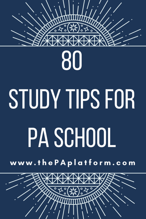 Blog the pa platform a while back on instagram i asked for your best study tips and you guys delivered i compiled them into a list so if youre feeling stuck unmotivated fandeluxe Gallery