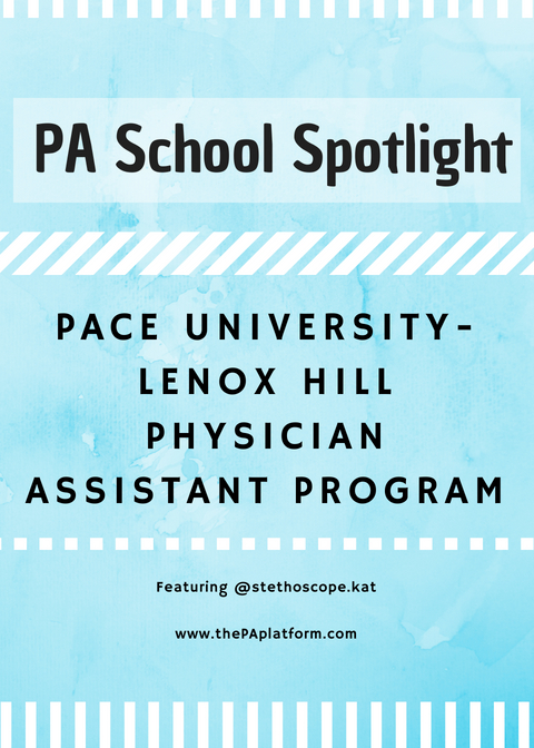 PA School Spotlight: Pace University-Lenox Hill Hospital Physician