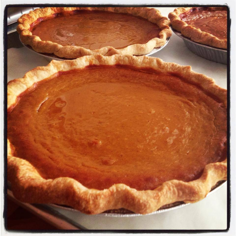 Our Pumpkin Pie recipe was handed down to us by our Grandmother