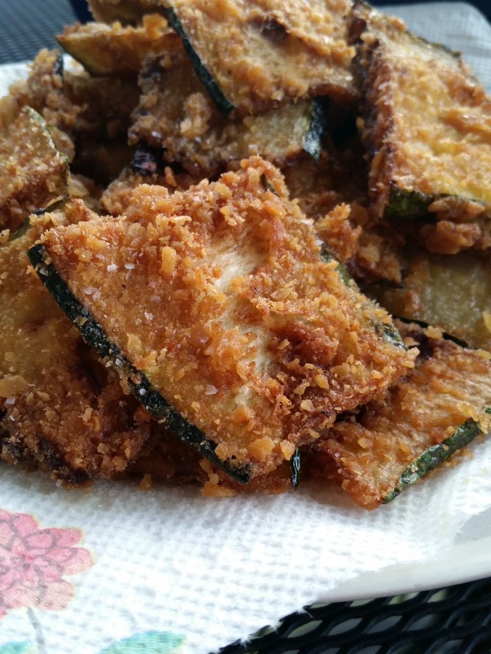 Fried Zucchini is a family favorite