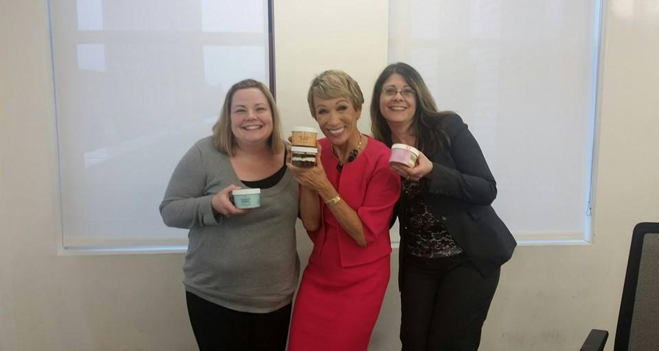 The Sugar Sisters and Barbara Corcoran