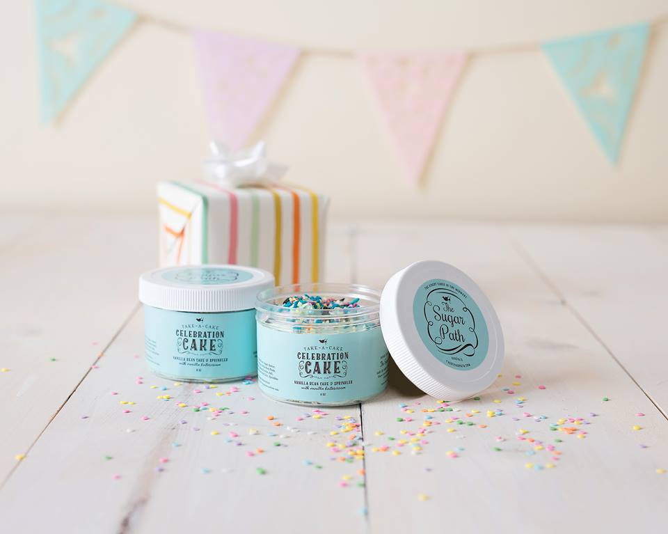 Vanilla Celebration Cake Jars