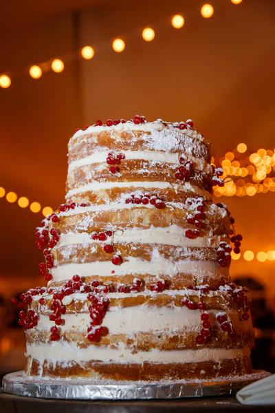 True Naked Cake