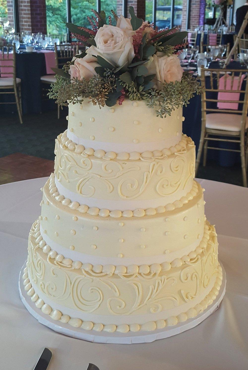 True Grace Cake w/ border