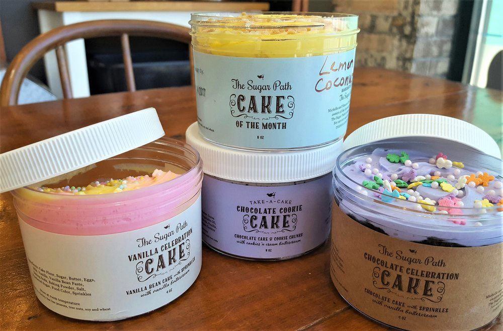 Cake Jars are perfect for Easter basket treats!