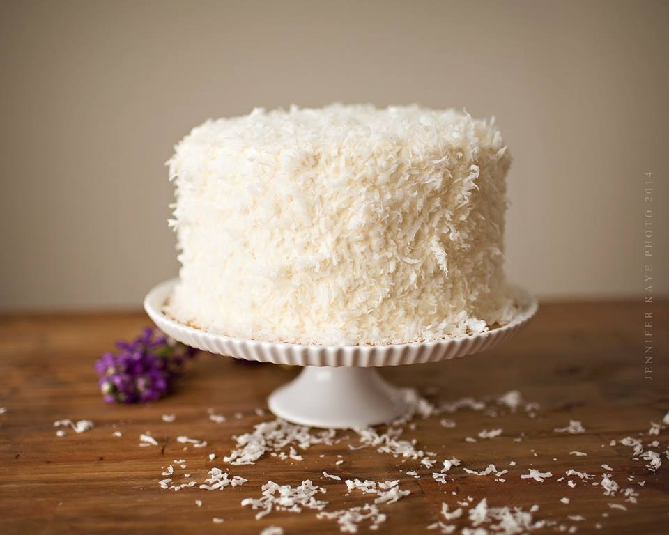 Our famous Coconut Cake