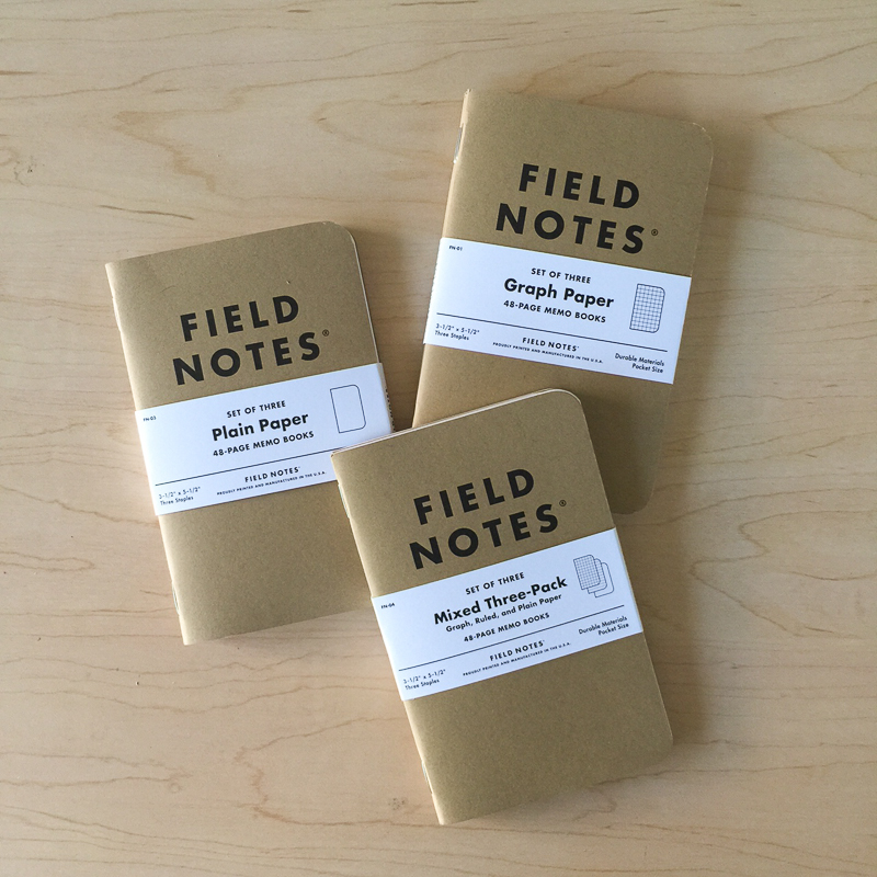 Inserts Field Notes Orchid Tomoe River Breeze Sojourner