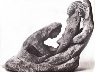Childbirth statuette from Cyprus.