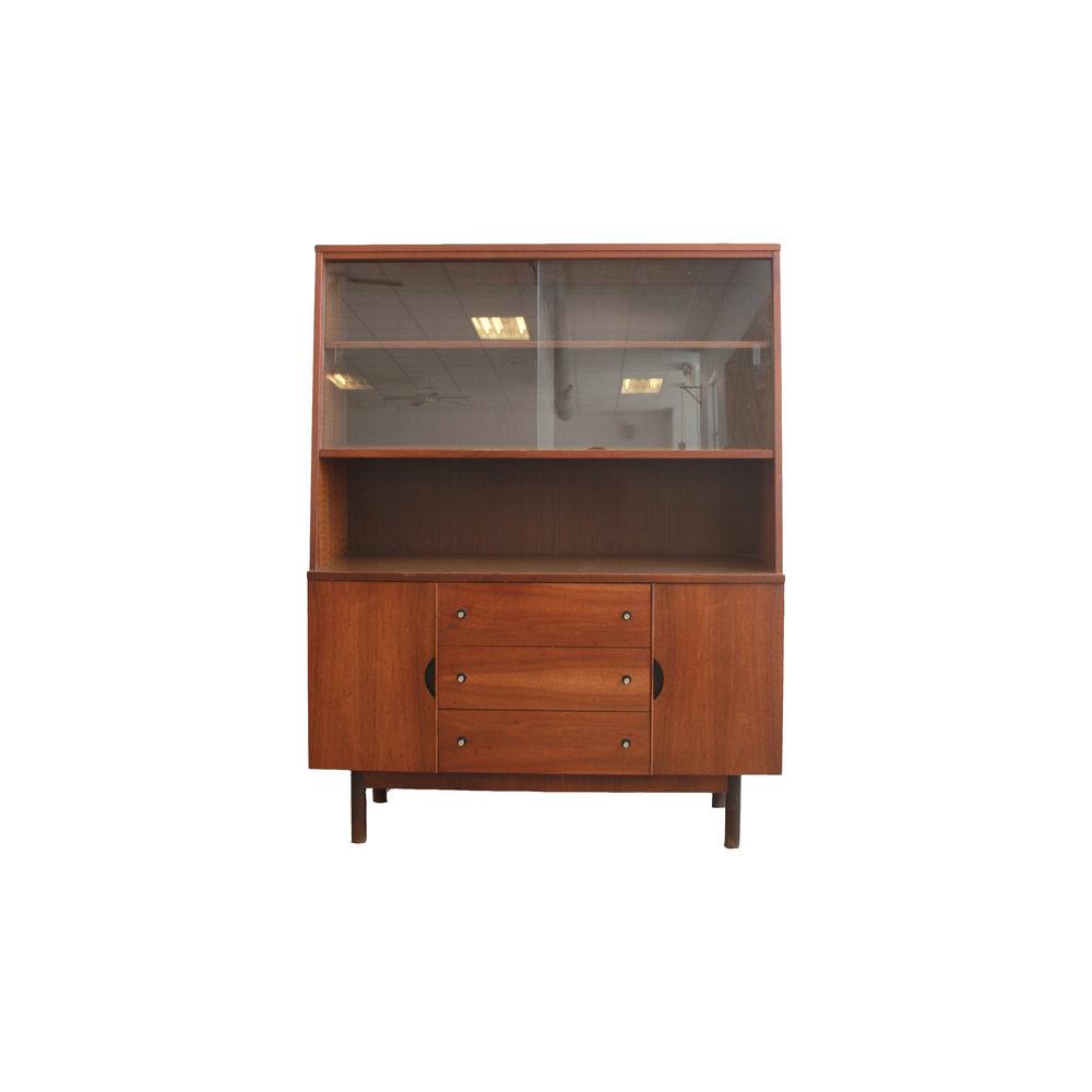 Mid Century Modern Stanley Distinctive Collection Hutch