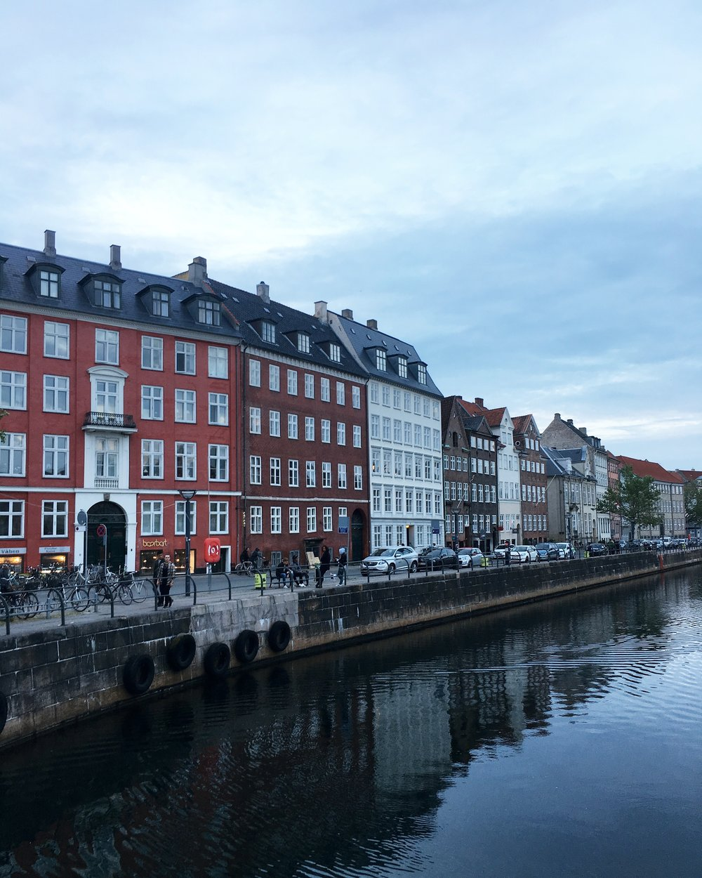 Every building in Copenhagen is beautiful. Every street is filled with wonderful people, and bikes.