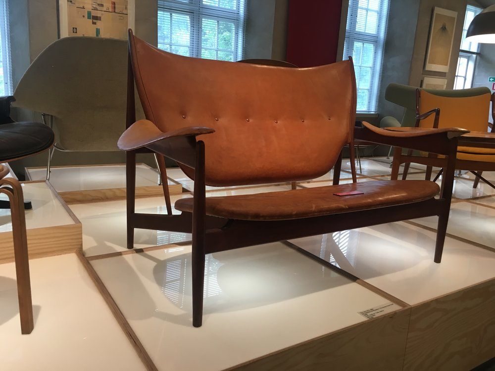 Seating dreams. This was at a museum, but honestly every direction that you look while in Denmark is filled with beautiful design.