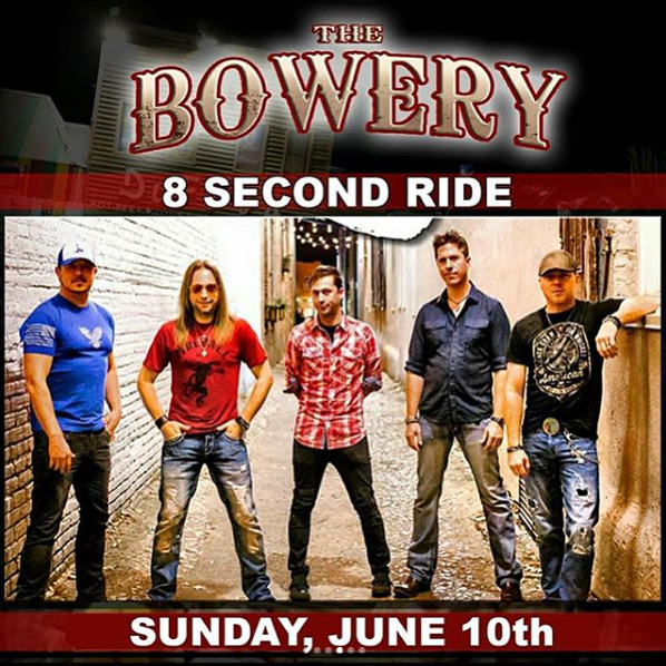 We are back at the Bowery during the Carolina Country Music Festival.  Come catch our show Sunday!