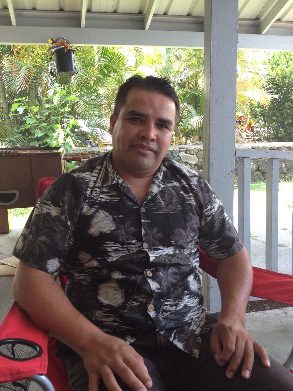 Alejandro Lopez (Mexican). Big Island.