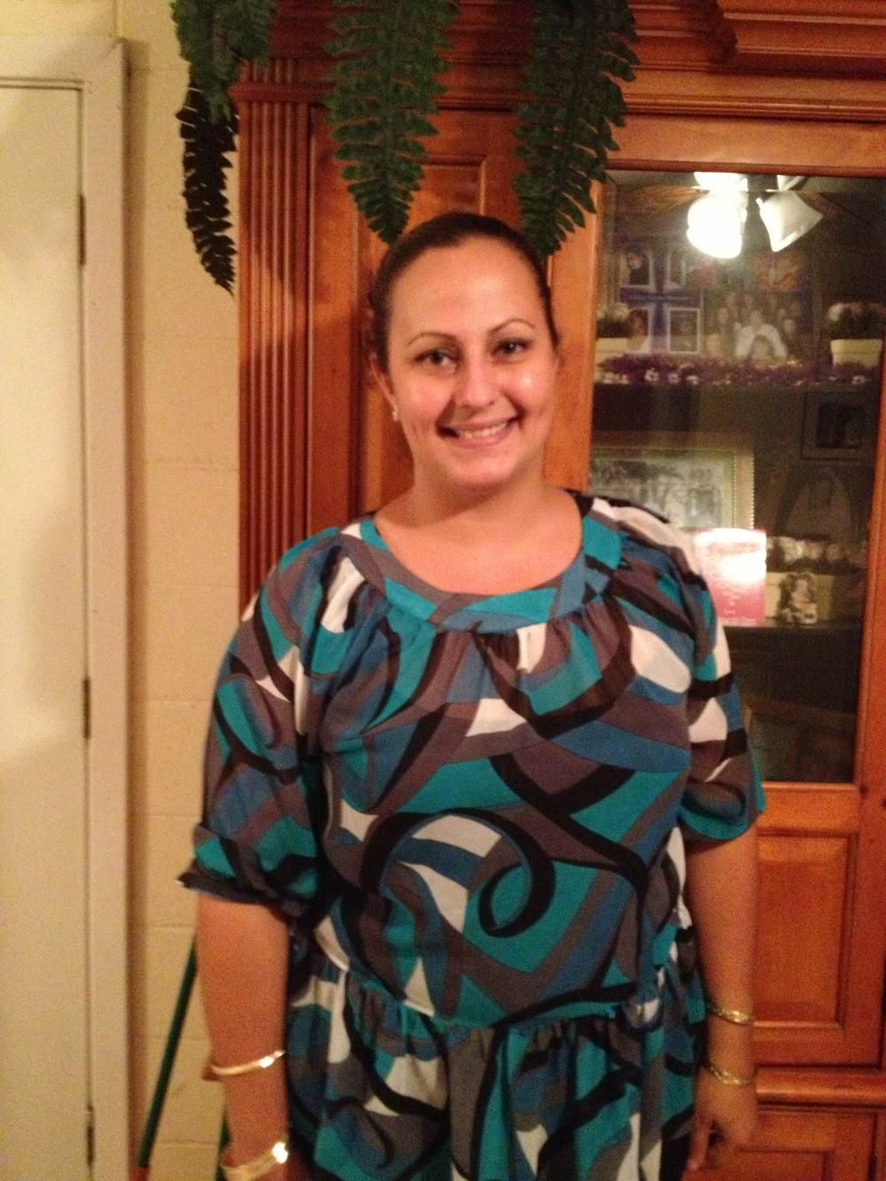 Angela Dean (Puerto Rican/Portuguese). Community activist. Big Island.