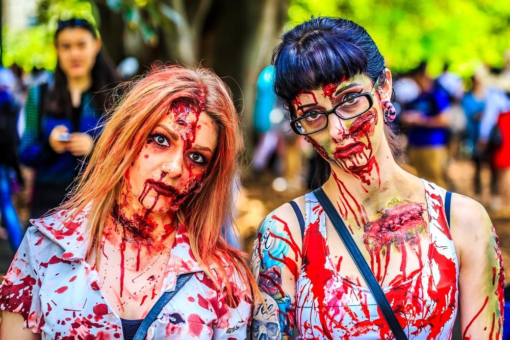 Melbourne Zombie shuffle