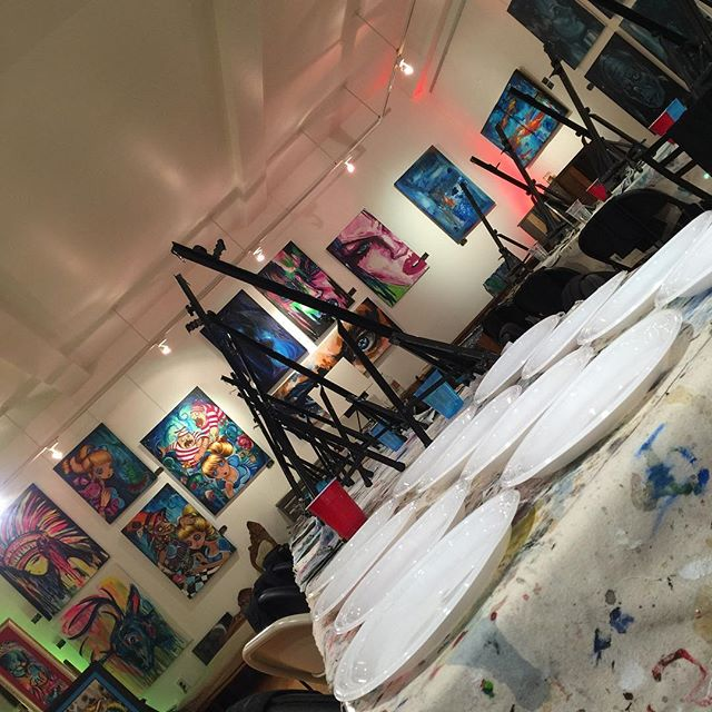Angles. #gallery #studio #art #grouplessons #privateparty #create #memories #experience #learn #painting #giftcertificates #jerseycity #hoboken