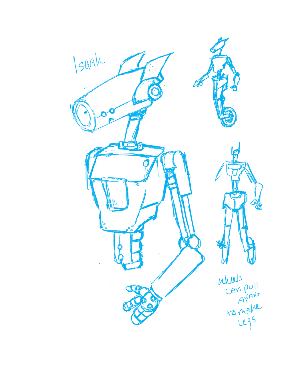 Isaak Concept Art