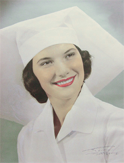 Joy as a  newly graduated nurse