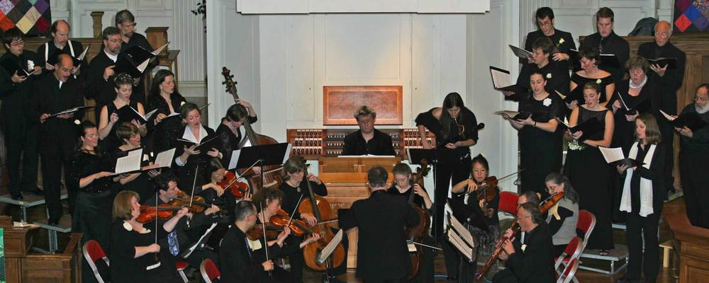 Performance of J. S. Bach's Missae Breves (Lutheran Masses) in Downtown United Presbyterian Church, Rochester, NY (2004).