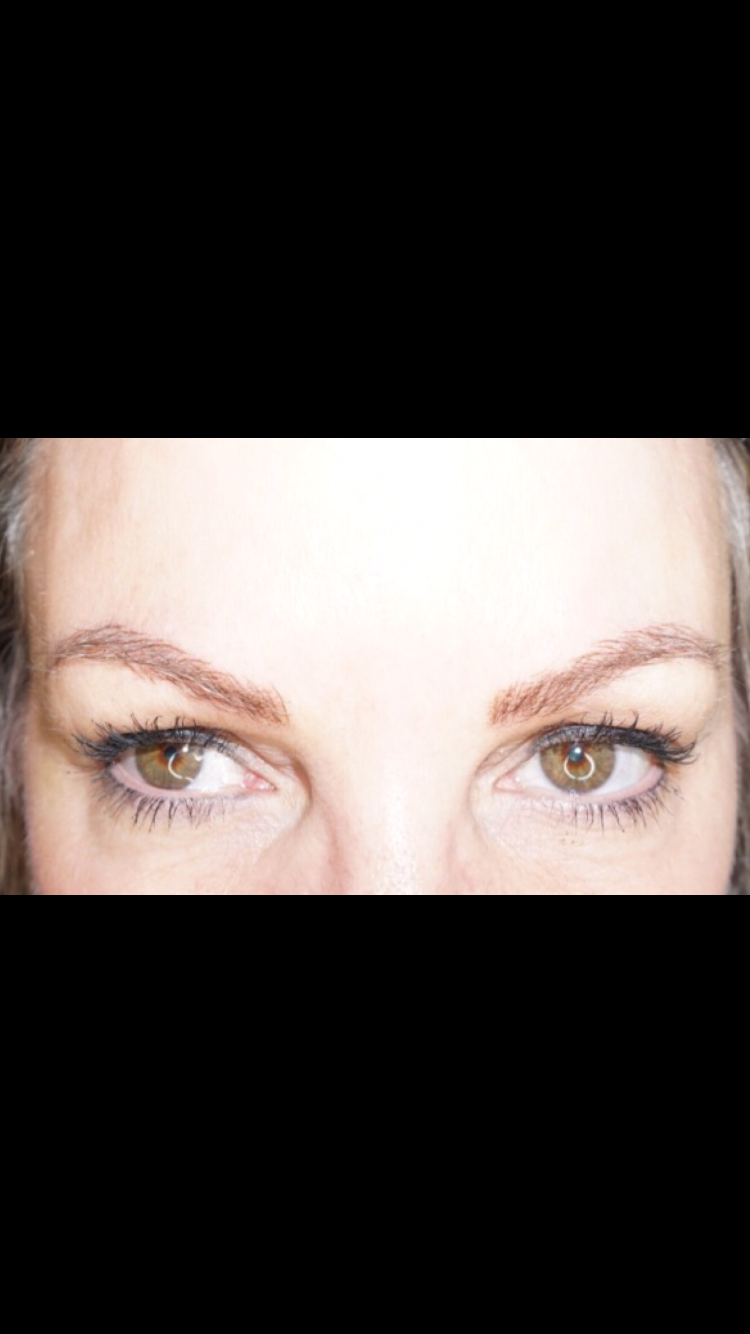 Micro bladed Eyebrows by Ashley Colburn, Founder of Smash Beauty Bar