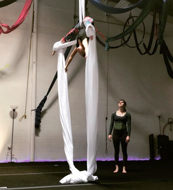 Silks  - Tuesday: 5-6pm Intermediate silks6-7pm Kids silks6-7pm Adult silks Thursdays:6-7pm Kids silks7-8pm Adult silks