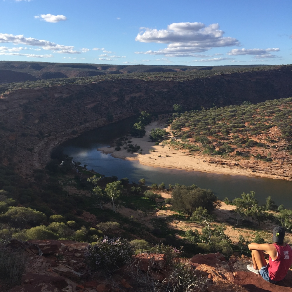 Admiring the view of Western Australia's gorgeous gorges - Sheana M.
