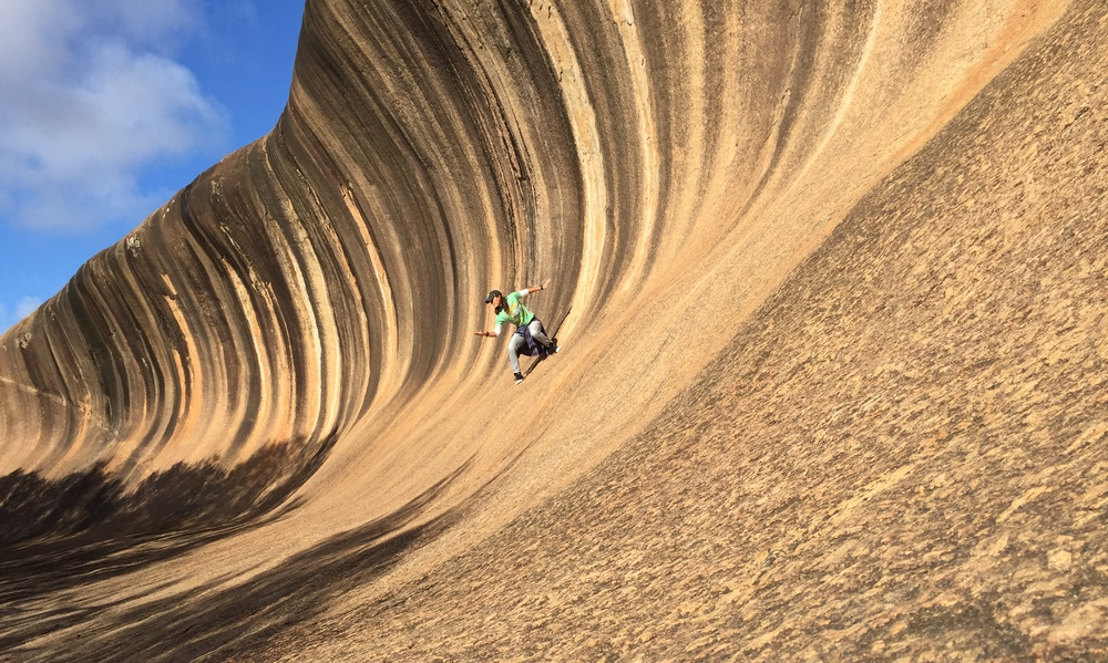 Hangin' 10 at Wave Rock, Western Australia - Sheana M.