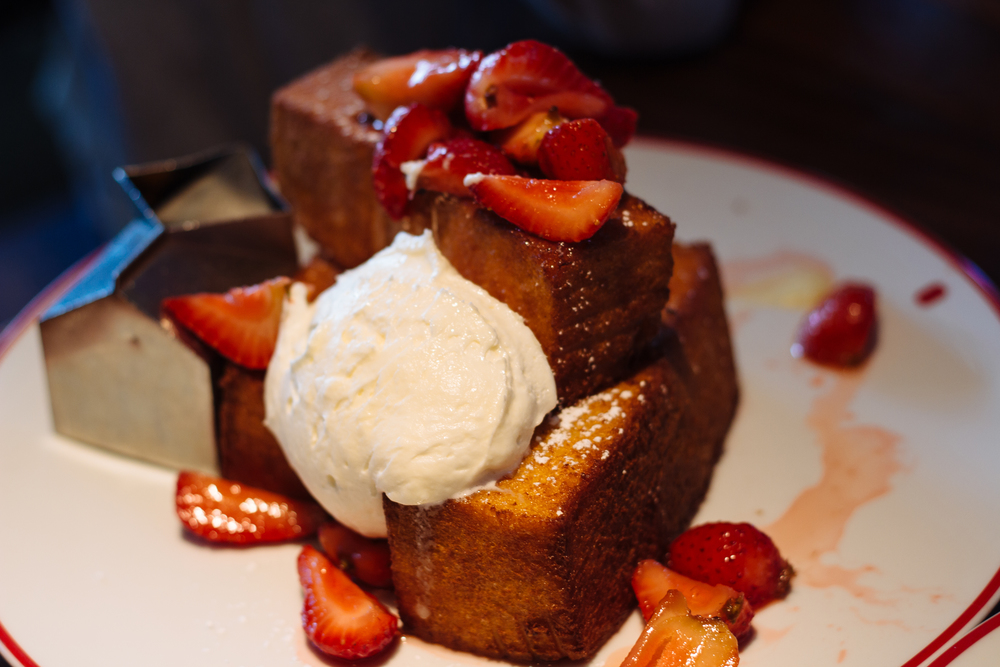 This stuff french toast was TO DIE FOR - Founding Farmers