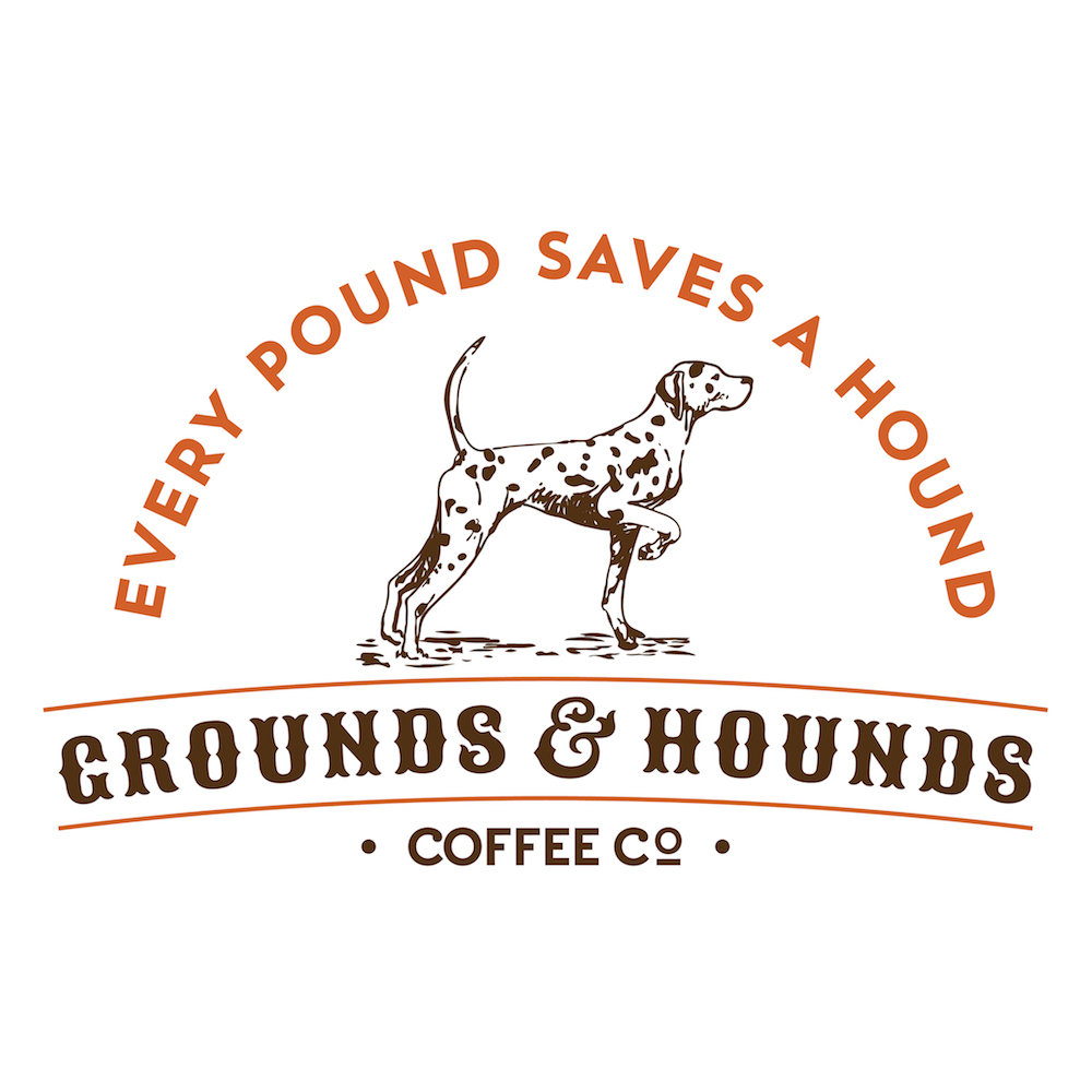 Grounds & Hounds Coffee Co. was born of our passion to give back to the loyal pups who provide us with so much happiness each day. Using our small batch roasted, 100% fair trade organic, specialty coffees, we embarked on a mission to bring together morning's best friend to save man's best friend. To do so, 20% of all proceeds generated by the sale of our coffee are used to fund life saving animal rescue initiatives in the communities where our products are purchased, allowing our customers to impact animal welfare in the community where they brew. Join us in changing the world for every pup, one cup at a time! Learn more at  www.GroundsandHoundsCoffee.com .