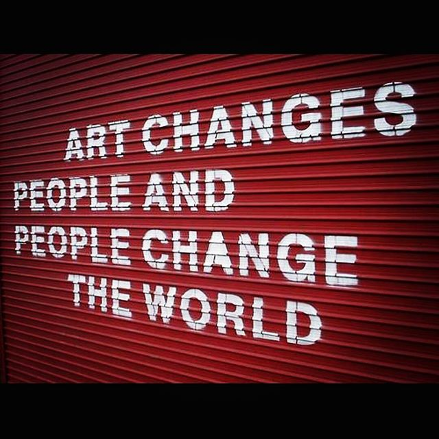Keep pushing for change.  #artlife #artworld #instaartoftheday #inspiration #inspirational #quoteoftheday