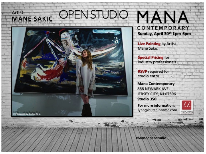 #maneopenstudio #manesakic #Manacontemporary