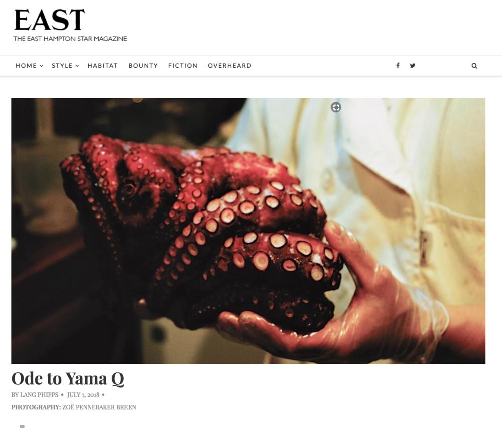 Yama Q - East Mag