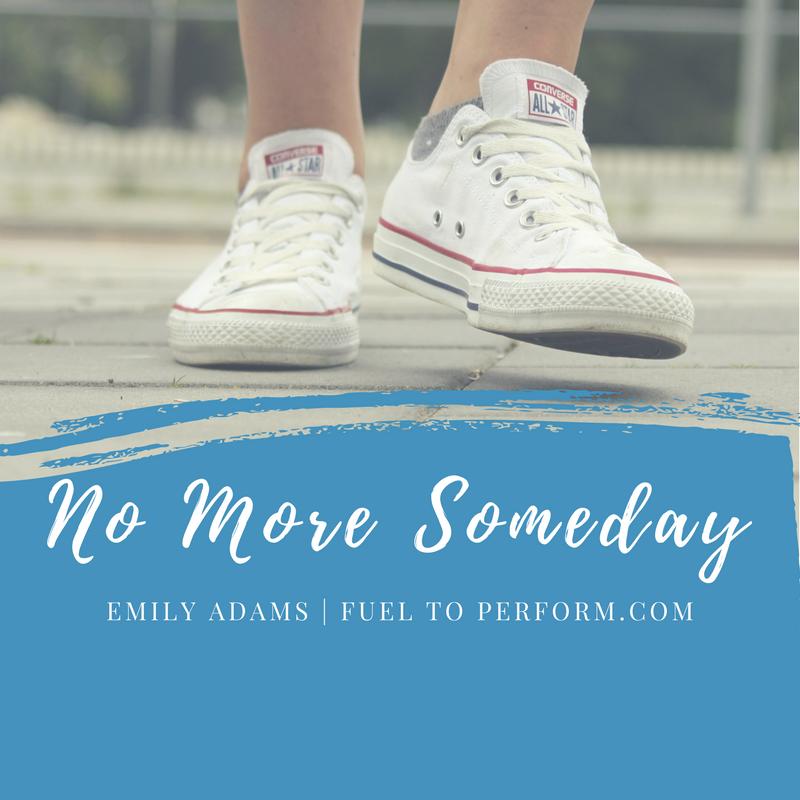 No More Someday